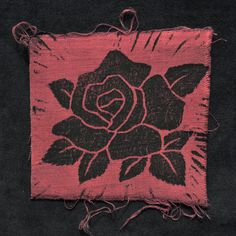 Rose Flower Sew on Patch  Prune by thedeadfeather on Etsy, $1.50 Handmade Shop, Etsy Handmade, Handmade Items, Sew On Patches, Give It To Me, My Etsy Shop, Group, Sewing, Board