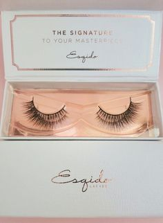 The world's most natural looking eyelashes - ESQIDO mink lashes in Unforgettable.