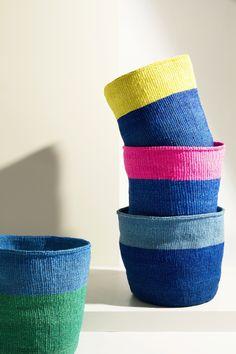 New basket designs from the Kasigau Weavers in Kenya