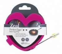 Perfect Eggs Heart Shaped Silicone Egg Ring by CKS Zeal