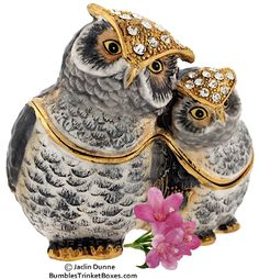 Trinket Box: Owl SweetheartsTrinket Box