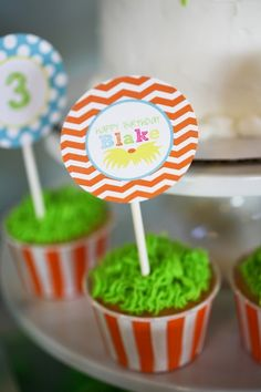 Party Reveal: The Lorax, A Truffula-tastic Birthday Party