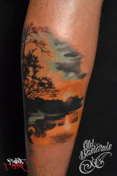 Sunset done by Cristi Satran