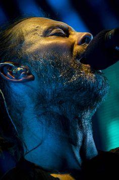 Thom Yorke - #Radiohead - Arena Parco Nord. Bologna, Italy 25th September 2012 By Francesco Prandoni