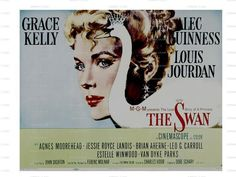 grace kelly movie posters | The Swan Grace Kelly 1956 Movie Poster Image Download Classic Movie ...