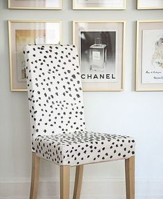 Ikea Hack, spotted chair