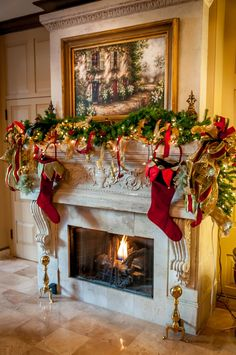 New Orleans at Christmas Time! The lobby at the Historic Maison Dupuy