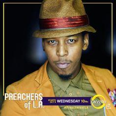 PREACHERS OF LA/ DIETRICK HADDON Preachers Of La, New Tv Series, Newest Tv Shows, Choir, Season 1, Scandal, Writer, Channel, Singer
