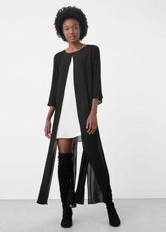 Robe combinée fendue | MANGO