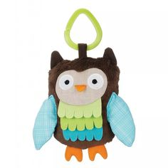 Skip Hop | Treetop Friends Wise Owl Baby Stroller Toy