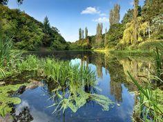 The Furry Glen, Phoenix Park Love Ireland, White Dogs, Dublin, Phoenix, Wanderlust, March, Cottage, River, Spaces