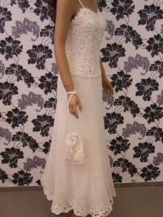 Made to order wedding dress SHARYLirish crochet by LaimInga