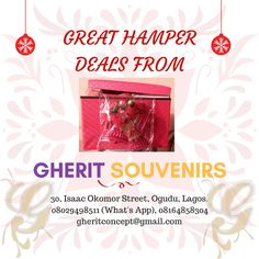 Christmas is almost here and it's the season show love and givegifts to our family, clients/customers, friends and loved ones!