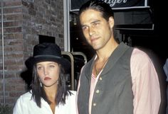 Lisa Marie Presley and Danny Keough. Husband #1 and father of her first 2 children, Benjamin and Riley.