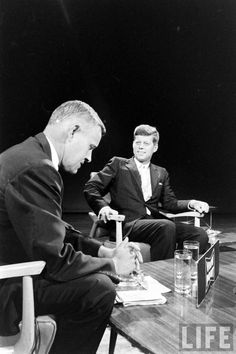 Senator Jack Kennedy on View Point  With his good looks, youth, and charm, JFK was a natural on screen and was the first politician to capitalise on the medium of television.