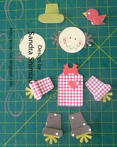 fun-ideas handmade: Tutorial - scarecrow - Scarecrow