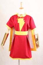 New Arrival Captain Marvel Costume Mary Marvel Heroine Cosplay Party Shawl Dress Halloween //Price: $US $130.00 & FREE Shipping //     #tshirtdesign