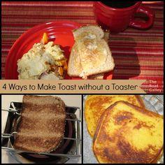 How do you make toas