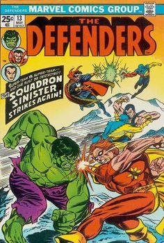 The Defenders 13 Marvel Comic Book cover hulk Marvel Comic Books, Comic Book Characters, Marvel Characters, Comic Character, Comic Books Art, Comic Art, Book Art, Marvel Defenders, Vintage Comic Books