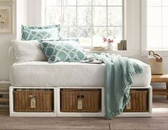 Idea for small guest room
