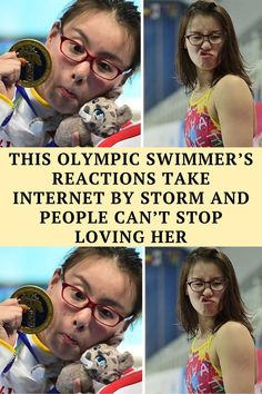 20-year-old Chinese swimmer Fu Yuanhui is taking internet by storm with her adorkable reactions at the Rio Olympics.
