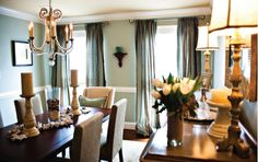 Casual beach-house style dining room-Home and Garden Design Ideas