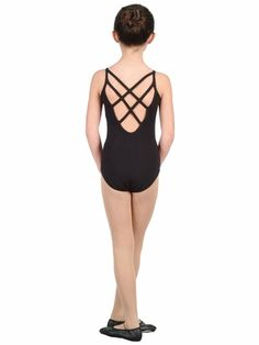 The perfect dance leotard for your little girl by Danshuz. Camisole leotard with a low back and interlacing crossing straps. Fully front lined. For more than 50 years, Danshuz has been the name that is trusted for top quality dance products. Girls Dancewear, Dance Leotards, Camisole, Dance Wear, Nice Tops, Plus Size Outfits, One Piece, Swimwear, How To Wear
