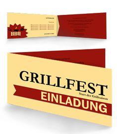 grillfest einladungskarten jetzt günstig online bestellen, Einladung