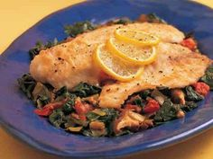 Pan-Seared Cod Over Vegetable Ragout