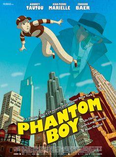 Phantom Boy, avec Edouard Baer, Jean-Pierre Marielle