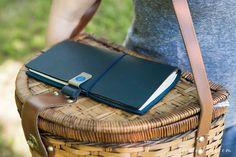 Fountain Pen Paper   Midori Traveler's Notebook - Blue (Regular Size) - 2015 Special Edition   GouletPens.com