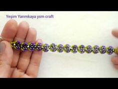 LOTUS(NİLÜFER)ÇİÇEĞİ BİLEKLİK YAPIMI /SUPER DUO BİLEKLİK #jewellerytutorial #bracelets #superduo - YouTube Bead Jewelry, Jewelery, Bead Patterns, Beadwork, Projects To Try, Beads, Crafts, Flower Bracelet, Satin Flowers
