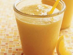 Sunshine Smoothie | Morning, noon, or night—smoothies are a treat right for any time of day.