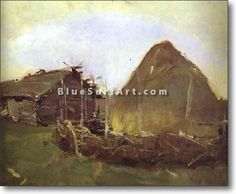 Haystack - £124.99 : Canvas Art, Oil Painting Reproduction, Art Commission, Pop Art, Canvas Painting