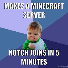 My memes minecraft server