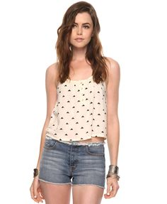 Ditsy Triangle Top | FOREVER21 - 2011407950