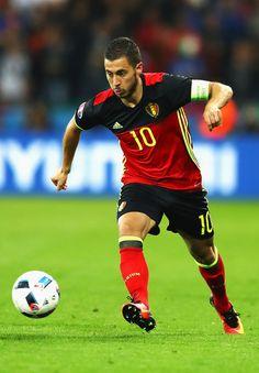 a744a748d Eden Hazard of Belgium in action during the UEFA EURO 2016 Group E match  between Belgium