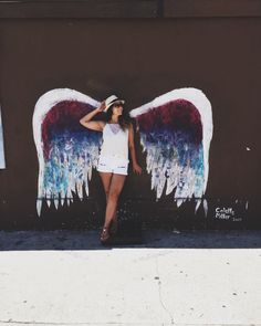 Global Angel Wings Project by Colette Miller, Los Angeles, CA