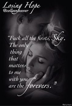She releases a breath of relief, then completely kisses the hell out of me. #LosingHope @Colleen Hoover