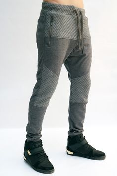Joggers Para Hombre - Jogger Gris Jaspe – urbanwearco