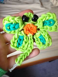 DragonFly Rainbow Loom Animal! My Original Design!