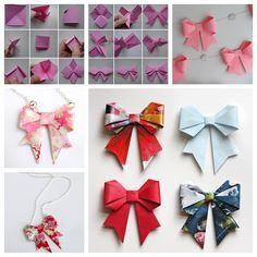 Do you want to make a special gift even more special ? the origami gift bow is the perfect addition… and it's simple to make!  Check picture and video directions ---> http://wonderfuldiy.com/wonderful-diy-origami-paper-bow/
