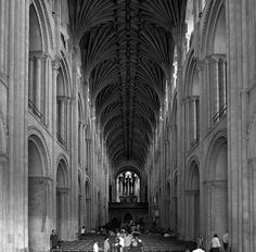 Nave    Norwich Cathedral Church Architecture, Architecture Design, Norwich Cathedral, Medieval Art, Cathedrals, Building Design, Norfolk, Temples, Worship
