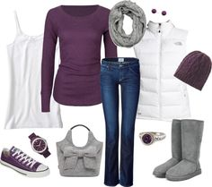 """Purple Madness"" by katiejeanne ❤ liked on Polyvore"