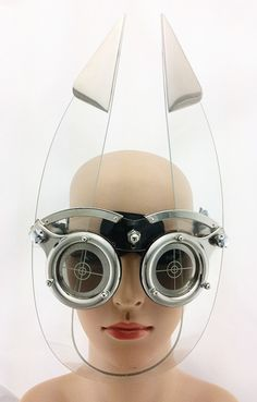gaga eye wear head wear mask