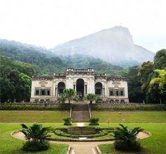 Parque Lage, Rio de Janeiro, RJ, Brasil.