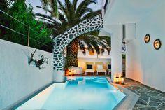 Galatia Villas, Fira, Santorini, Greece. Lovely pool.