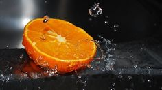 An orange, (well, half really) Poster wall print. Fabulous size photo print on gloss paper. Great framed or just for orange lovers. Splash Photography, Still Life Photography, Color Photography, Fruit Photography, Macro Photography, Orange Wallpaper, Hd Wallpaper, Wallpapers, Orange Fruit