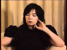 """love her thoughts on what """"creativity"""" means.  / Björk - Interview on ARTE - Why Are You Creative?"""