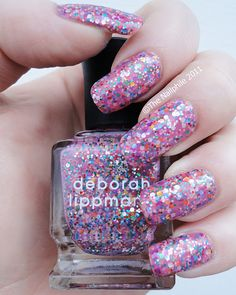 I currently have this on my nails and I'm never sure if I *love* it or not. The base is just a little too clear.